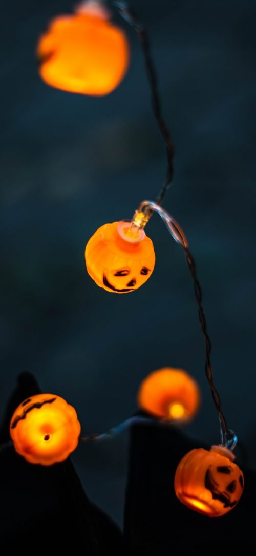 Halloween Lamps Picture for Smartphone Background
