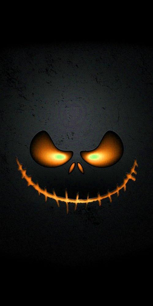 Jack-o'-lantern Wallpaper for Happy Halloween Smartphone Background