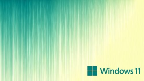 Simple Wallpaper for Windows 11 Laptops with Vertical Lines and Official Logo